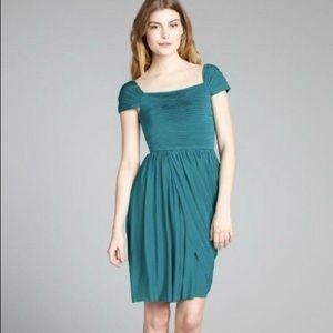 BCBG Maxazria Teal Dress Size Medium
